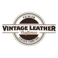VINTAGE LEATHER CRAFTSMAN PREMIUM LEATHER FURNITURE