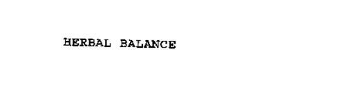 HERBAL BALANCE