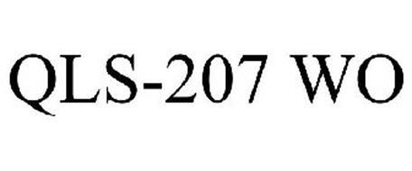 QLS-207 WO Trademark of QUIMICA LIPOSOLUBLE, S.A. DE C.V ...