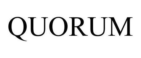 Quorum International Logo QUORUM Trademark of QU...
