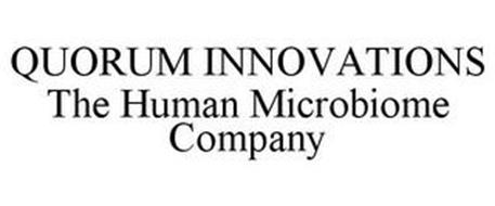 QUORUM INNOVATIONS THE HUMAN MICROBIOME COMPANY