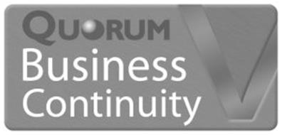 QUORUM BUSINESS CONTINUITY V