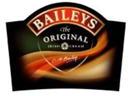 BAILEYS THE ORIGINAL IRISH CREAM R A BAILEY