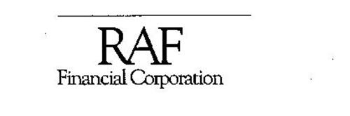 RAF FINANCIAL CORPORATION