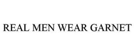 REAL MEN WEAR GARNET
