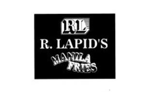R. LAPID'S MANILA FRIES