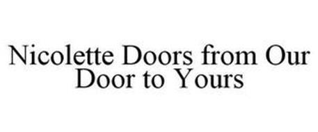 NICOLETTE DOORS FROM OUR DOOR TO YOURS