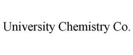 UNIVERSITY CHEMISTRY CO.