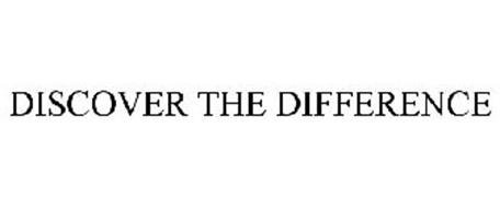 DISCOVER THE DIFFERENCE