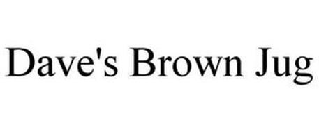 DAVE'S BROWN JUG