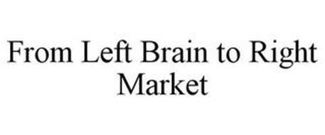 FROM LEFT BRAIN TO RIGHT MARKET