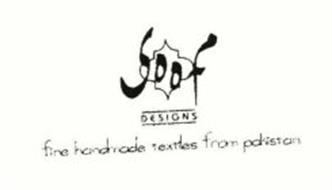 SOOF DESIGNS FINE HANDMADE TEXTILES FROM PAKISTAN