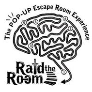 RAID THE ROOM THE POP-UP ESCAPE ROOM EXPERIENCE 1 2 3 4 5 6
