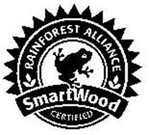RAINFOREST ALLIIANCE SMARTWOOD CERTIFIED