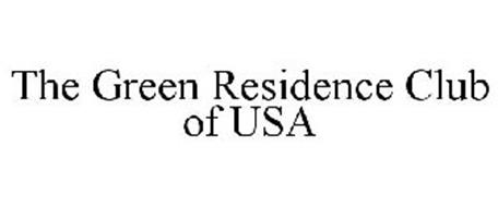 THE GREEN RESIDENCE CLUB OF USA