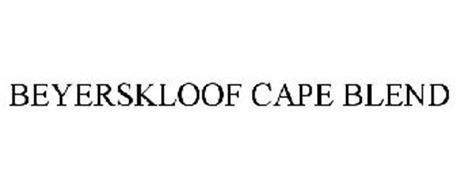 BEYERSKLOOF CAPE BLEND