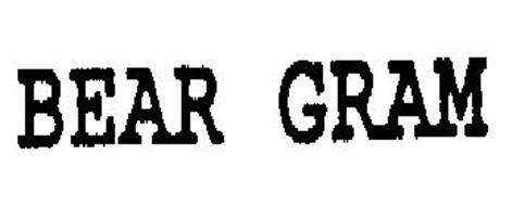 BEAR GRAM