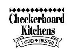 CHECKERBOARD KITCHENS TASTED TRUSTED