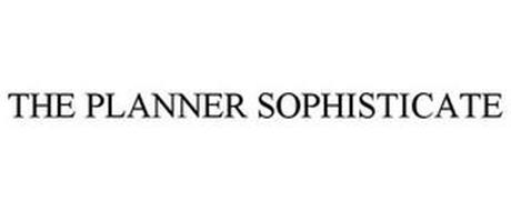 THE PLANNER SOPHISTICATE