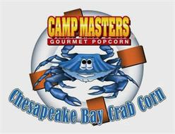 CAMP MASTERS GOURMET POPCORN CHESAPEAKE BAY CRAB CORN