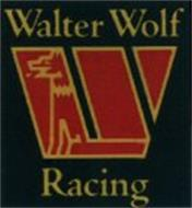W Walter Wolf Racing Trademark Of Ramt D O O Serial
