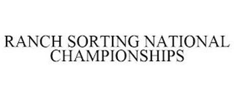 RANCH SORTING NATIONAL CHAMPIONSHIPS