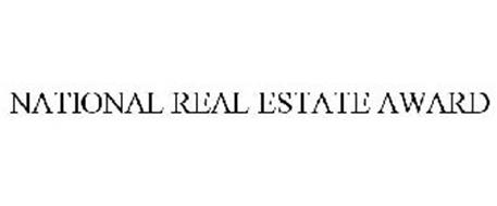 NATIONAL REAL ESTATE AWARD
