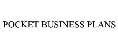 POCKET BUSINESS PLANS