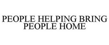 PEOPLE HELPING BRING PEOPLE HOME