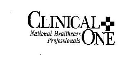 CLINICAL + ONE NATIONAL HEALTHCARE PROFESSIONALS