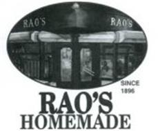 RAO'S HOMEMADE SINCE 1896