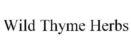 WILD THYME HERBS