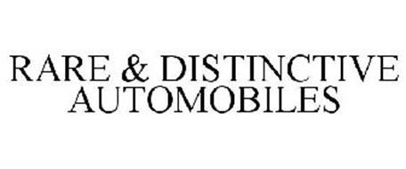 RARE & DISTINCTIVE AUTOMOBILES