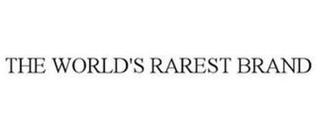 THE WORLD'S RAREST BRAND