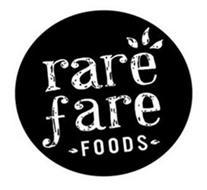 RARE FARE FOODS
