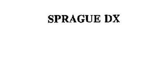 SPRAGUE DX