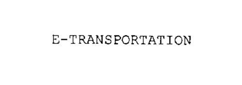 E-TRANSPORTATION
