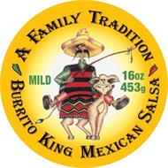 A FAMILY MEXICAN TRADITION, BURRITO KING MEXICAN SALSA, MILE, 16OZ, 453G