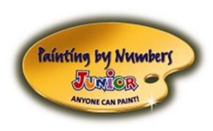 PAINTING BY NUMBERS JUNIOR ANYONE CAN PAINT!