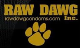 RAW DAWG INC. RAWDAWGCONDOMS.COM