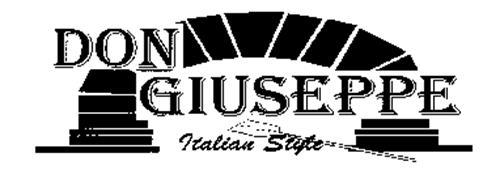 DON GIUSEPPE ITALIAN STYLE