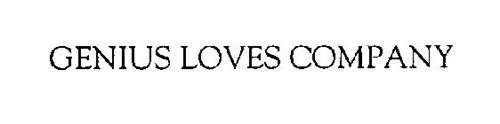 GENIUS LOVES COMPANY