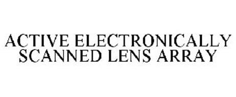 ACTIVE ELECTRONICALLY SCANNED LENS ARRAY