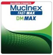 MAXIMUM STRENGTH MUCINEX FAST-MAX DM MAX