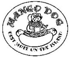 MANGO DOG BEST MUTT ON THE ISLAND