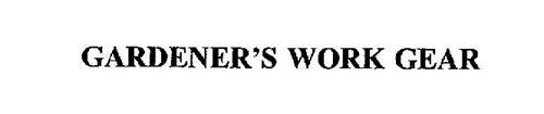 GARDENER'S WORK GEAR
