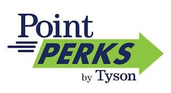 POINT PERKS BY TYSON