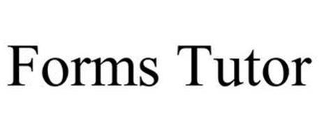 FORMS TUTOR