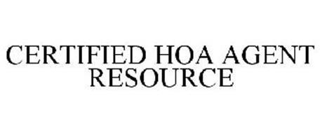 CERTIFIED HOA AGENT RESOURCE
