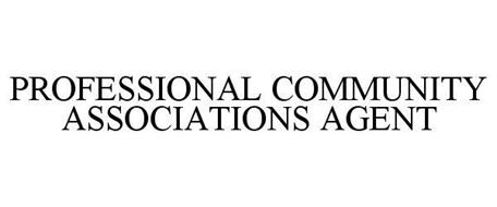 PROFESSIONAL COMMUNITY ASSOCIATIONS AGENT